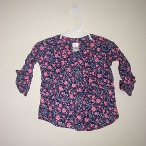 5/$10 Oshkosh baby girls button-down top size 18m